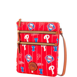 Phillies Triple Zip Crossbody