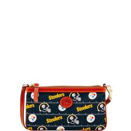 Steelers Large Slim Wristlet