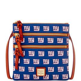 NY Giants Triple Zip Crossbody