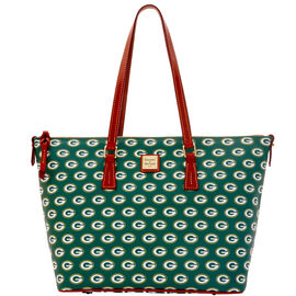 Packers Zip Top Shopper