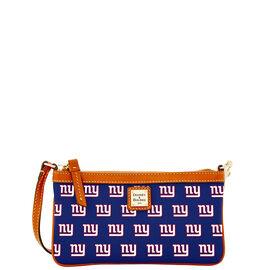 NY Giants Large Slim Wristlet
