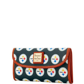Steelers Continental Clutch