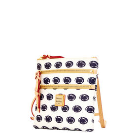 Penn State Triple Zip Crossbody