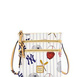 Yankees Triple Zip Crossbody