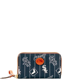 White Sox Zip Around Phone Wristlet