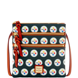 Steelers Triple Zip Crossbody