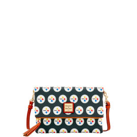 Steelers Foldover Crossbody