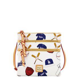 Dodgers Triple Zip Crossbody