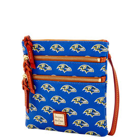 Ravens Triple Zip Crossbody