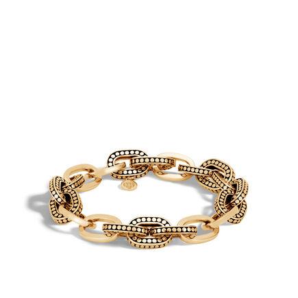 Dot 11.5MM Link Bracelet in18K Gold