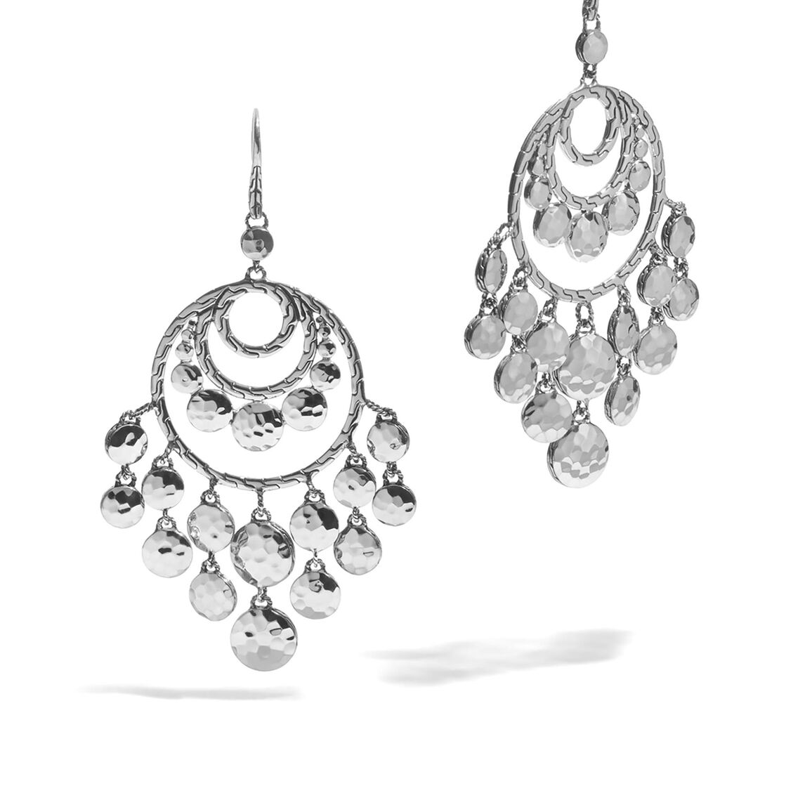 Dot Disc Chandelier Earrings – Chandelier Earring