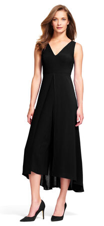 Culottes Jumpsuit with Fly Away Skirt