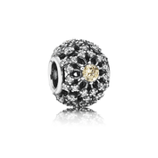 Inner Radiance, Golden-Colored & Clear CZ