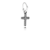 Symbol Of Faith Cross, Clear CZ