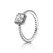 Timeless Beauty Ring, Clear CZ
