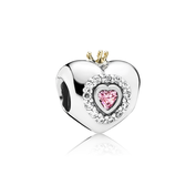 Princess Heart, Pink CZ