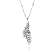 Majestic Feathers, Clear CZ