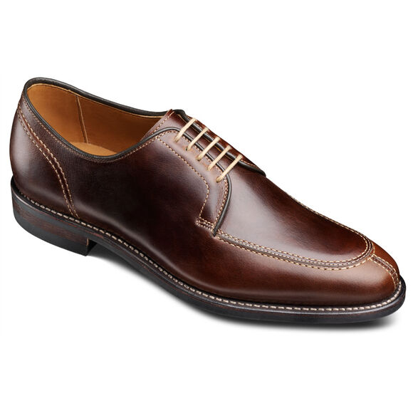 Clark Street Casual Shoes, 1906 Dark Brown Chromexcel Leather, blockout