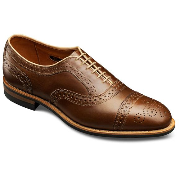 Rush Street Cap-toe Oxfords, 2005 Golden Brown Chromexcel Leather, blockout