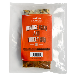 Orange Brine and Turkey Rub Kit