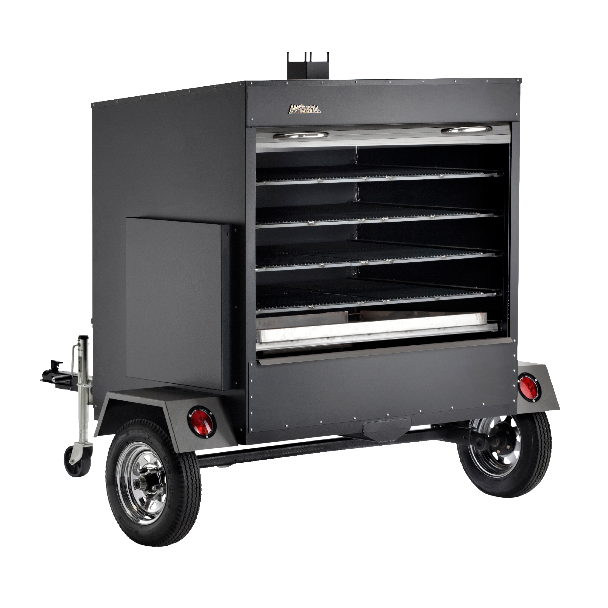large commercial grill trailer - Traeger Grill Reviews