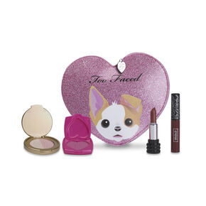 Too Faced x Kat Von D - Better Together Cheek & Lip Makeup Bag Set,