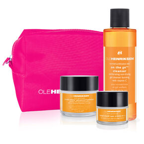 anti-aging + brightening regimen set