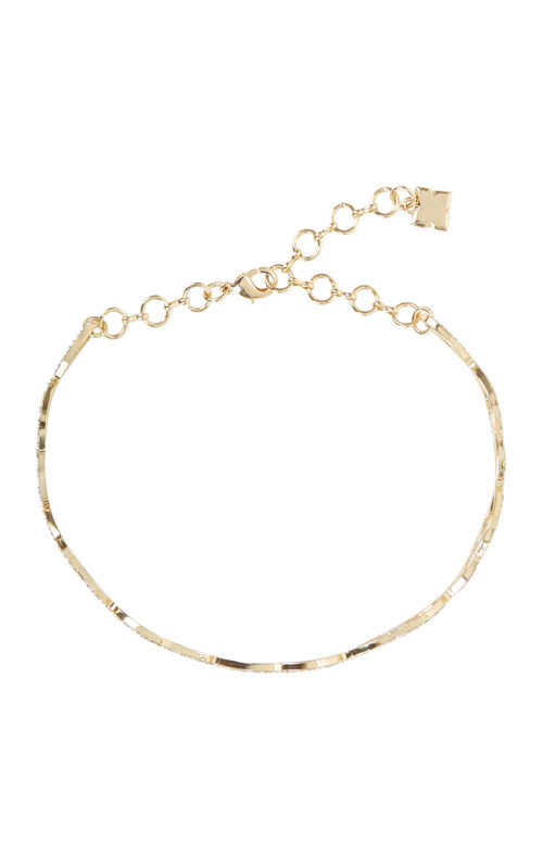 Pave Looped Choker Necklace