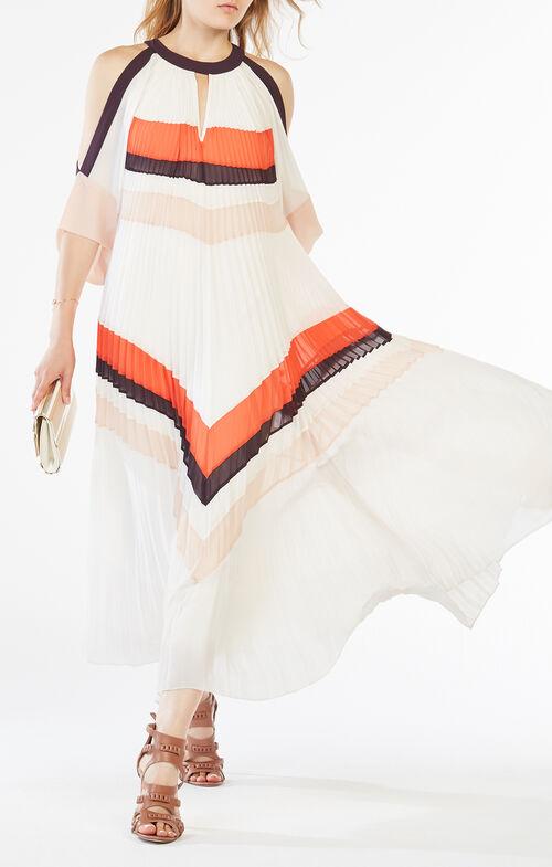 Zuzanna Pleated Maxi Dress