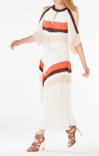 Zuzanna Pleated Maxi Dress
