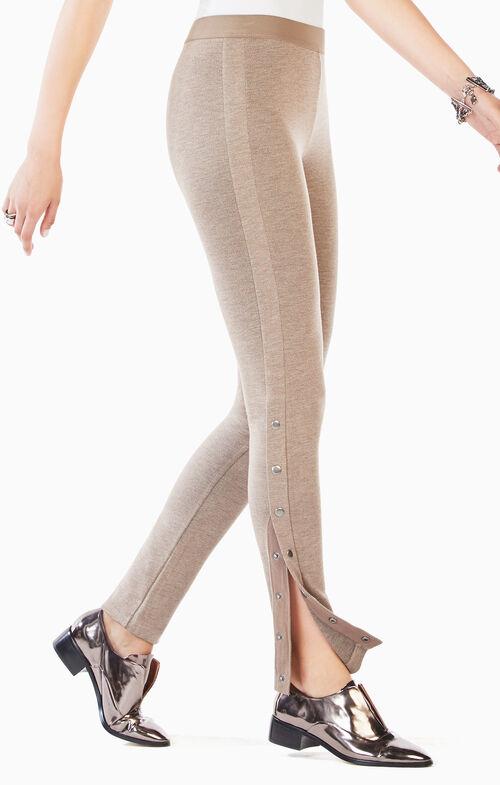 Dominick Side-Snap Leggings