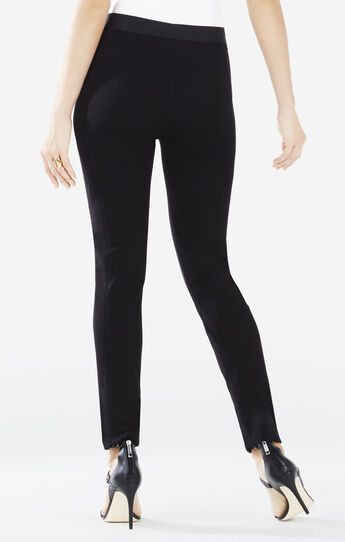 Nicolas Quilted Faux-Leather Pant