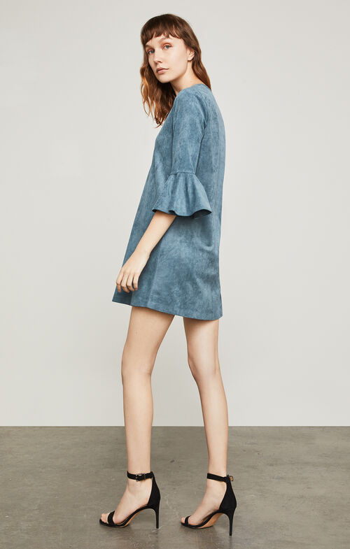 Catier Faux-Suede Dress