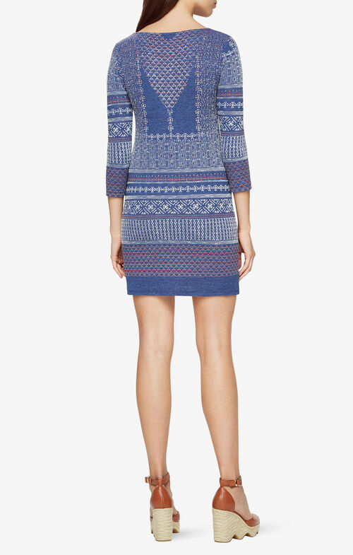 Beth Medallion Knit Dress