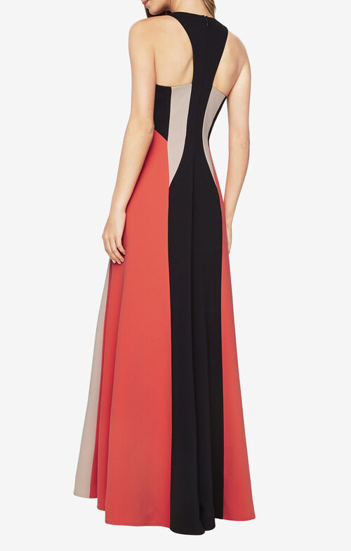 Johanna Color-Blocked Gown