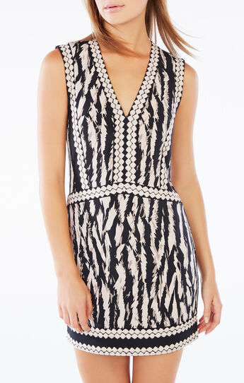Bridgit Animal Print Tunic Dress
