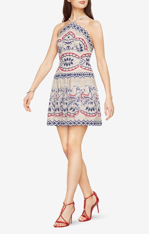 Fleur Halter Dress