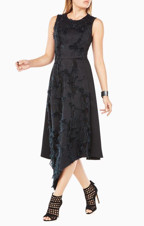 Lauretta Eyelash-Jacquard Dress