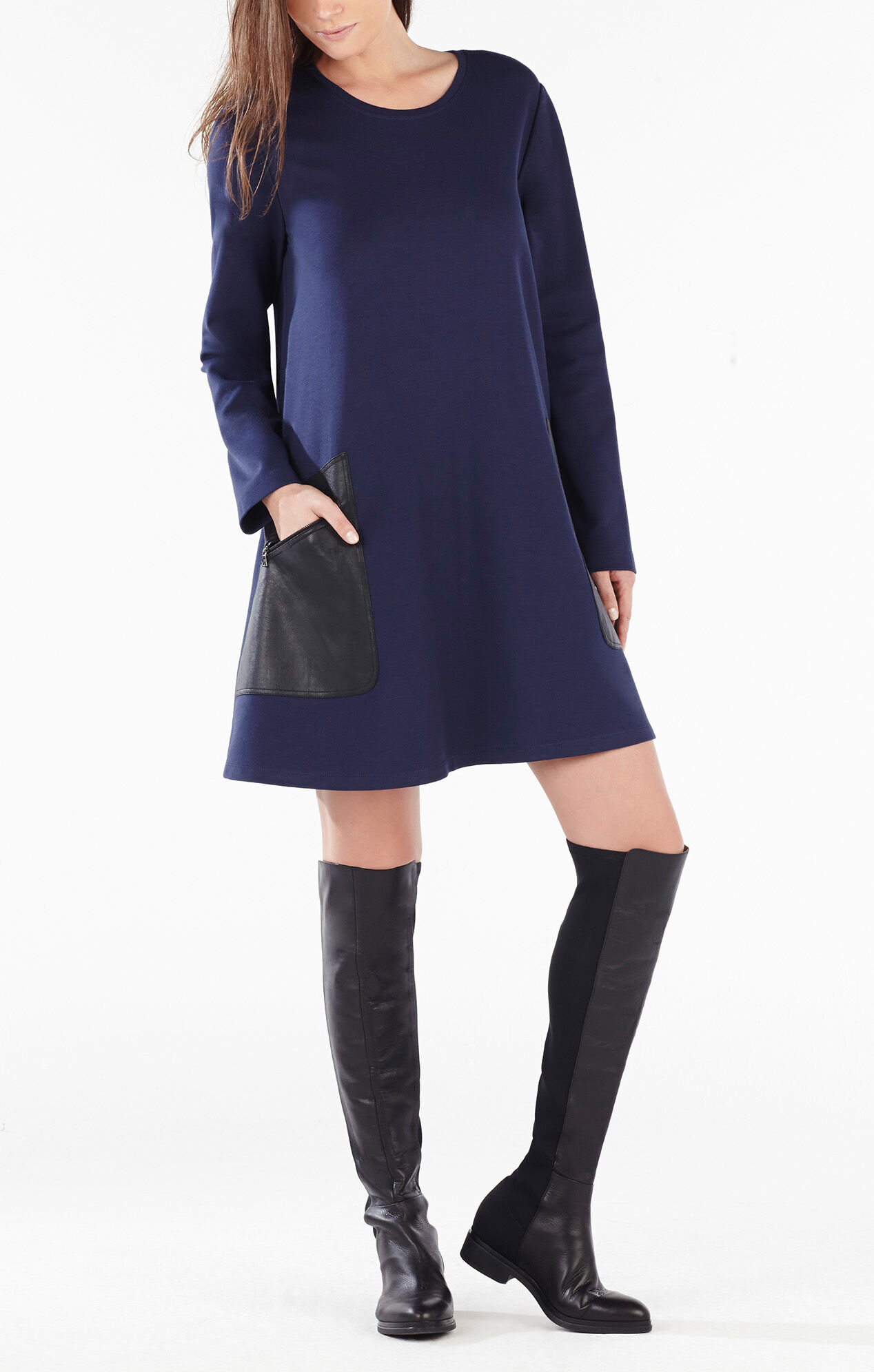 Matteo over the knee leather boots