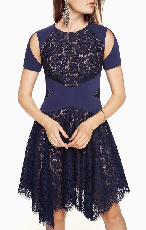 Trish Cutout Lace Dress