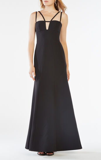 Leola Double-Strap Cutout Gown