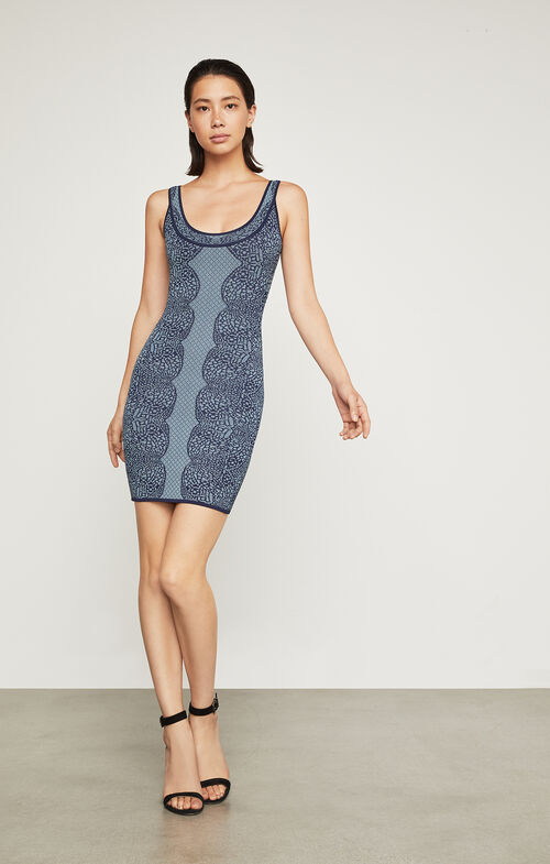 Natyly Geometric Lace Dress