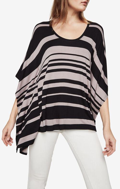 Lucilla Striped Poncho