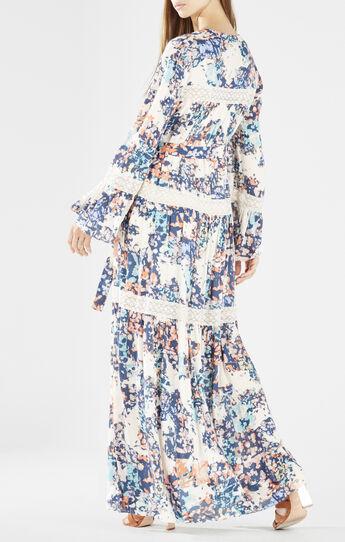Maisy Tiered Lace Maxi Dress