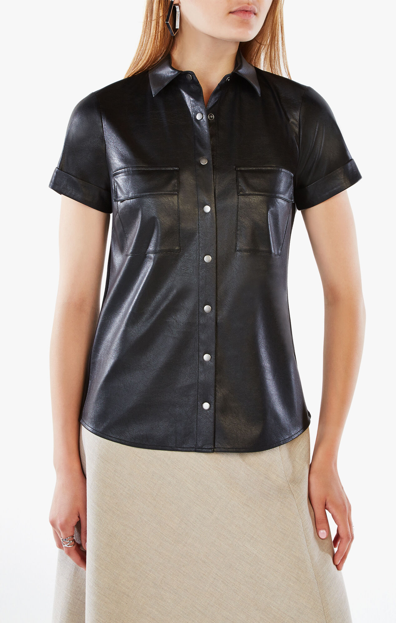 Shirts to wear with leather jackets