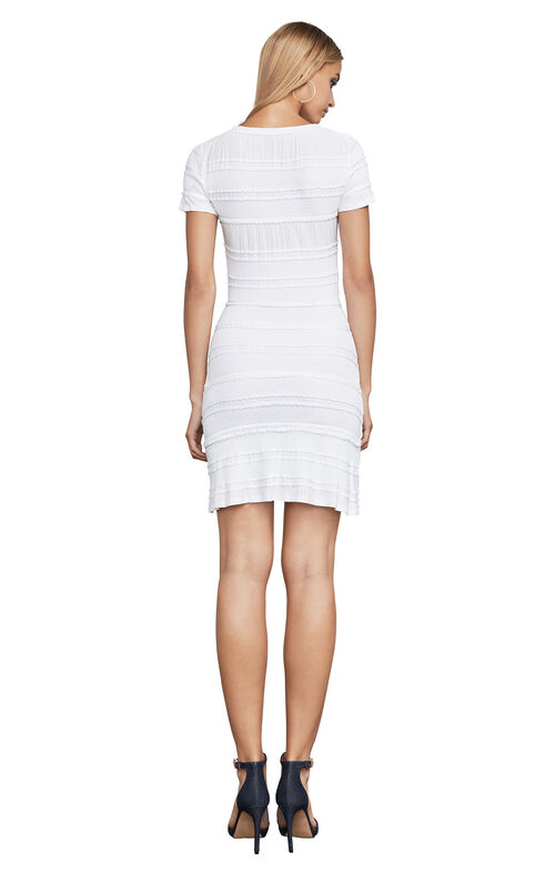 Libby Striped Jacquard Dress