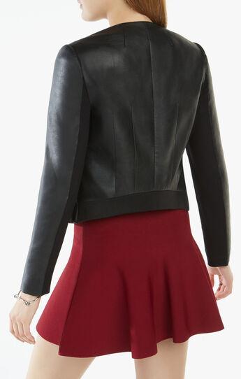 Cruz Faux-Leather Blazer