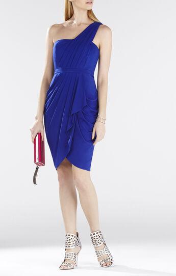 Julieta One-Shoulder Ruched Dress