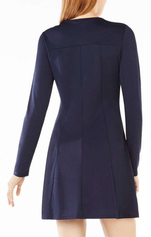 Jaena Embellished Flounce Dress