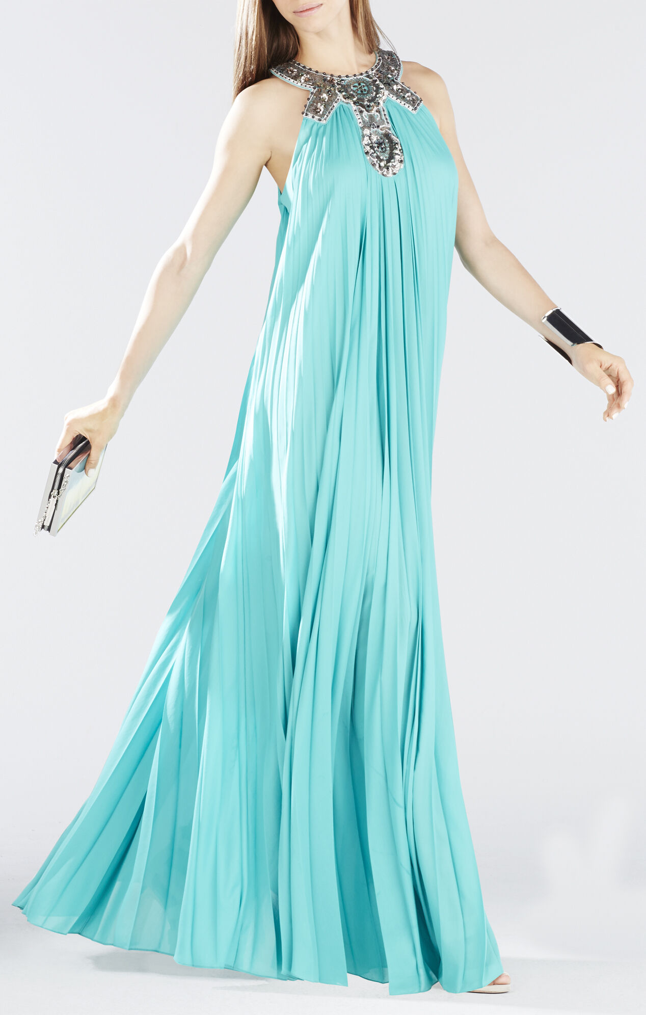 how to turn up a pleated dress
